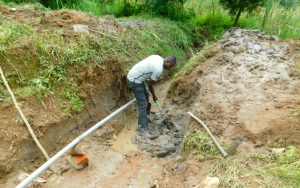 The Water Project:  Excavation Of Drainage Channel