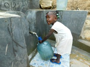 The Water Project:  I Can Fill It On My Own