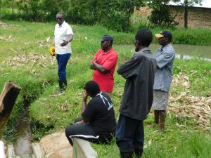 The Water Project:  Engaging The Community Before Commencement Of The Resorvior Tank
