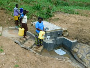 The Water Project:  Looking At The Newly Completed Work