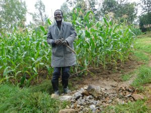 The Water Project:  Community Member Who Donated Bricks