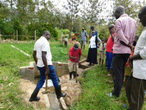 The Water Project:  Groundbreaking For Reservoir Tank