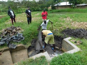 The Water Project:  Clearing The Ground For Construction Of Reservoir