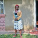 The Water Project: Bukhaywa Community, Ashikhanga Spring -  Isabella Amagua In Front Of Her House