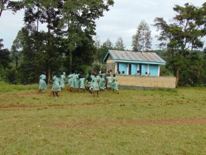 The Water Project:  Girls At The Latrines