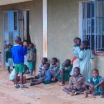 The Water Project: Friends Musiri Primary School -  Students Outside Class On Break