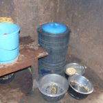 The Water Project: Friends Musiri Primary School -  Water Storage Inside The Kitchen