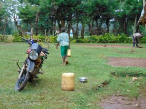 The Water Project:  A Pupils Dirty Jerrycan