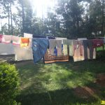 The Water Project: Mahira Community, Mukalama Spring -  Clothesline
