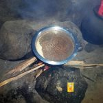 The Water Project: Mahira Community, Mukalama Spring -  Cooking A Meal Inside The Kitchen