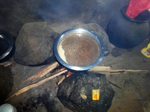 The Water Project:  Cooking A Meal Inside The Kitchen