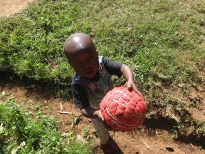 The Water Project:  Upcoming Footballer