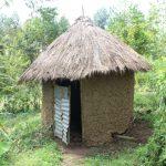 The Water Project: Lukala C Community, Livaha Spring -  Latrine