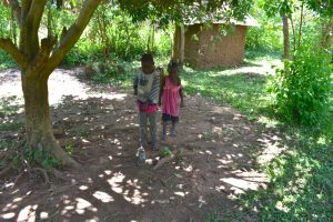 The Water Project:  Children Playing While On School Break Due To Covid