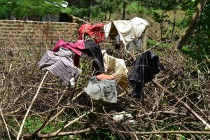 The Water Project:  Clothes Drying On Firewood