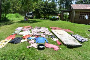 The Water Project:  Clothes Drying On The Grass
