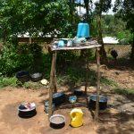 The Water Project: Shianda Township Community, Olingo Spring -  Dishrack