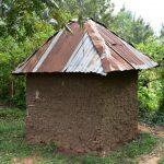 The Water Project: Shianda Township Community, Olingo Spring -  Latrine