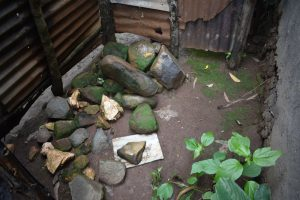 The Water Project:  Bathing Shelter Stone Floor