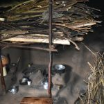 The Water Project: Maraba Community, Shisia Spring -  Kitchen Inside