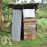 The Water Project: Maraba Community, Shisia Spring -  Latrine Outside