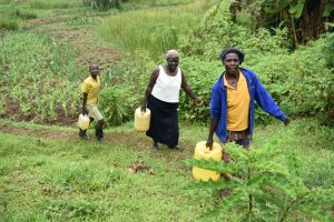The Water Project:  Taking Water Home From Shisia Spring