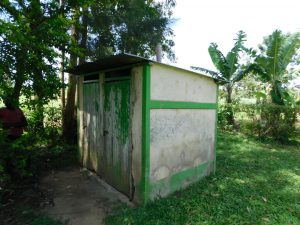 The Water Project:  Latine And Bathing Shelter