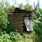 The Water Project: Musango Commnuity, Wabuti Spring -  Latrine Outside