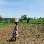 The Water Project: Musango Commnuity, Wabuti Spring -  Taking Water Home From Wabuti Spring