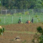 The Water Project: Musango Commnuity, Wabuti Spring -  Taking A Break While Farming