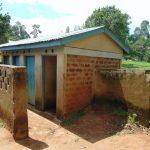 The Water Project: KG Jeptorol Primary School -  Girls Latrines