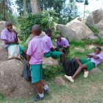 The Water Project: KG Jeptorol Primary School -  Pupils Relaxing During Breaktime