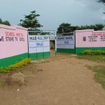 The Water Project: KG Jeptorol Primary School -  School Gate