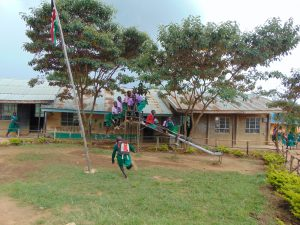 The Water Project:  School Grounds Pupils Playing