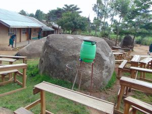 The Water Project:  School Grounds Handwashing Station