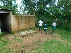 The Water Project:  Boys Running To The Latrine And Urinal