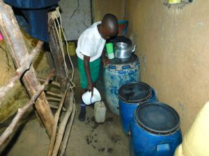 The Water Project:  Fetching Water From Home To Take To School