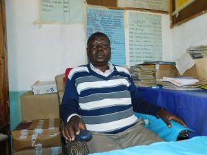 The Water Project:  Headteacher John Amoke