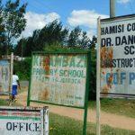 The Water Project: Kitambazi Primary School -  Kitambazi Primary School Sign