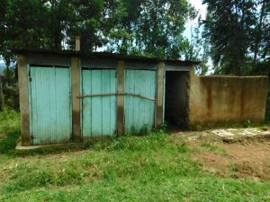 The Water Project:  The Gents Latrines
