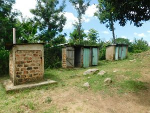 The Water Project:  The Ladies Latrines