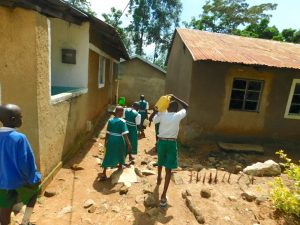 The Water Project:  Students Deliver Water To Kitchen As Central Point