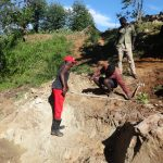 The Water Project: Mahira Community, Wora Spring -  Site Measurements