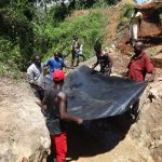 The Water Project: Mahira Community, Wora Spring -  Setting Foundation