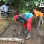 The Water Project: Mahira Community, Wora Spring -  Sanplat Construction