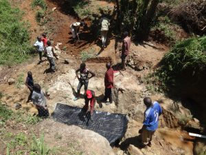 The Water Project:  Community Members Help Out