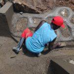 The Water Project: Mahira Community, Wora Spring -  Stone Pitching
