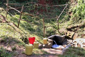 The Water Project:  Completed Wora Spring