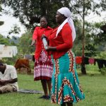 The Water Project: Mahira Community, Wora Spring -  Solar Disinfection Discussion