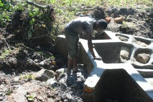 The Water Project:  Clay Backfilling